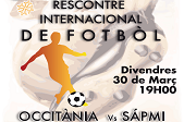 Rencontre internationale de football - Occitanie vs Sápmi (Laponie)