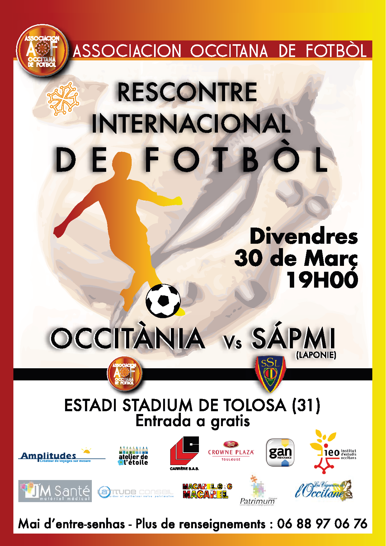 Rencontres internationales football